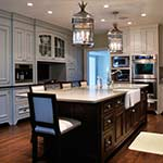 Beaded Inset Kitchen