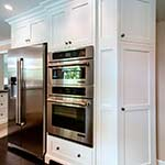 Shaker Kitchen Fridge and Double Oven