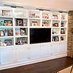 Media and Photo Cabinet